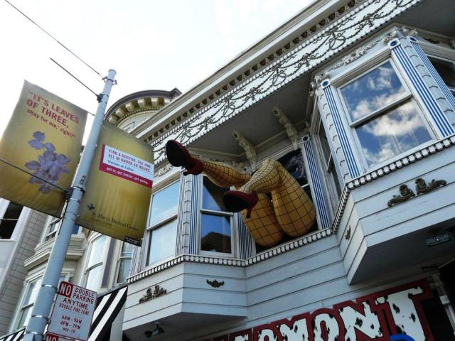 San Francisco  Calles Haight & Ashbury Barrio hippie de los 60